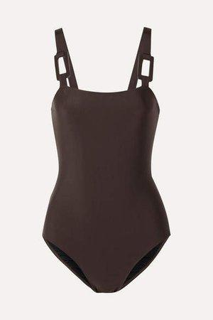 Swimsuit - Dark brown