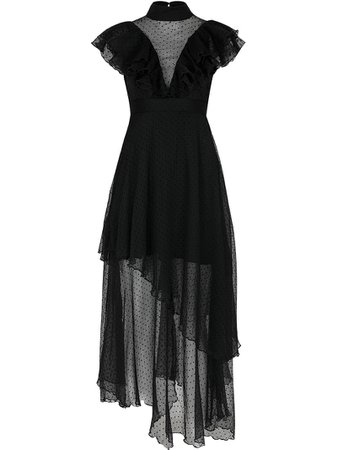 Guka Black Jay Dot Dress