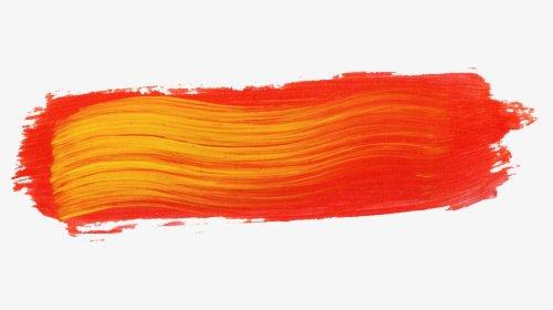 orange paint swatch