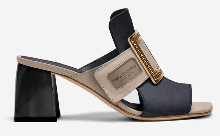 luxe sandal mules