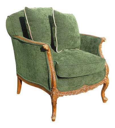 Green & Gold Chair