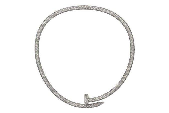 juste un clou necklace diamond - Recherche Google