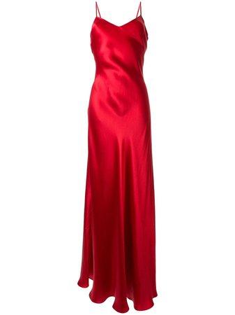 Ralph Lauren Collection Evelyn Silk Slip Dress Ss20 | Farfetch.com