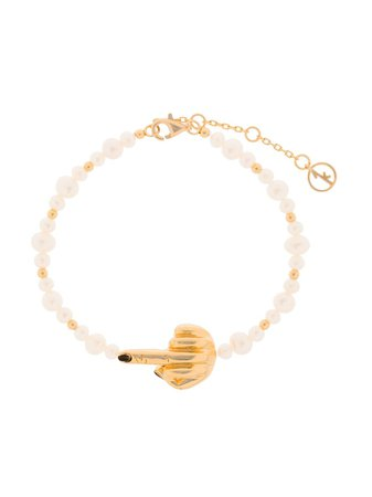 Shop Anissa Kermiche French for Goodnight bracelet with Express Delivery - FARFETCH