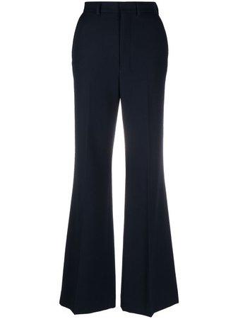 AMI Paris Flared Tailored Trousers - Farfetch