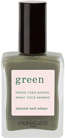 Manucurist - Green Nail Lacquer - Khaki