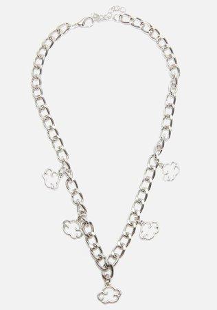 Head In The Cloudz Chain Necklace | Dolls Kill