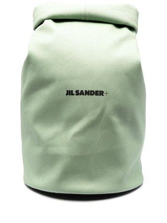 Jil Sander logo-print Backpack - Farfetch