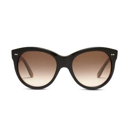 Manhattan 1960 Black Wood | Oliver Goldsmith Sunglasses | Wolf & Badger