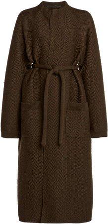 Haider Ackermann Raglan Wool Coat