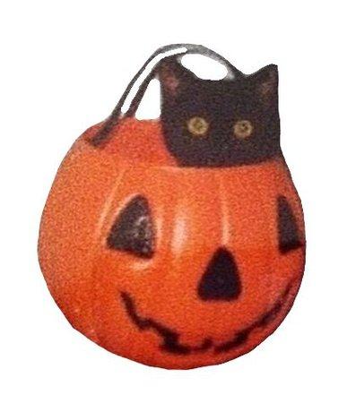 halloween cat png filler orange black