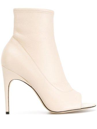 Sergio Rossi Open Toe Ankle Boots - Farfetch