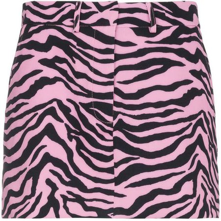 Ashley Williams Scuba Tiger Print Mini Skirt