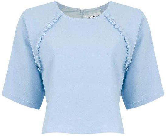 Olympiah Valle Sagrado cropped blouse