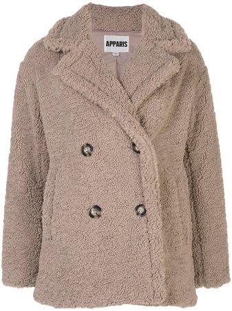 Apparis faux fur coat - FARFETCH