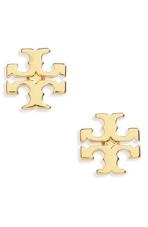 Tory Burch Logo Stud Earrings | Nordstrom