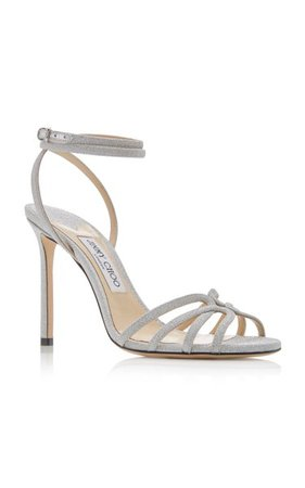Mimi Glitter Sandals By Jimmy Choo | Moda Operandi