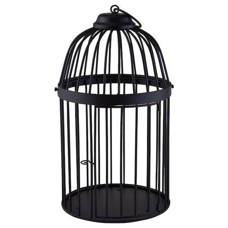 Black Antique Birdcage