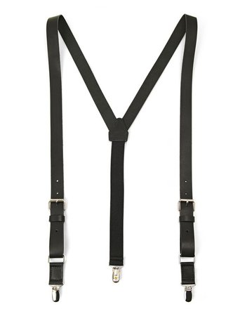 Leather suspenders | Le 31 | Men's Suspenders: Shop Online in Canada | Simons