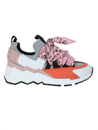 Multicolor Pink Bandana Sneakers