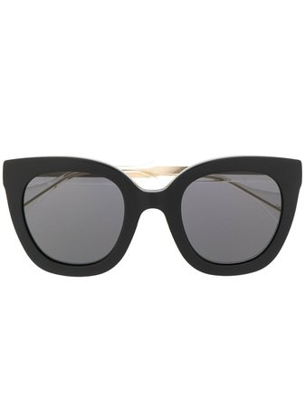 Gucci Eyewear Oversized Cat Eye Sunglasses | Farfetch.com