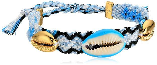 Amazon.com: Rebecca Minkoff Lola Friendship Blue Bracelet: Jewelry