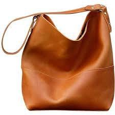 Leather Hobo Satchel
