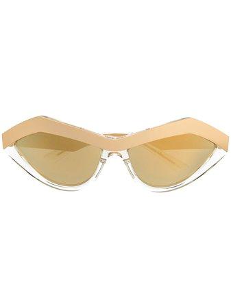 Bottega Veneta Eyewear Cat eye-solglasögon - Farfetch