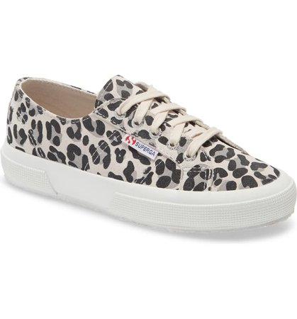 Superga 2750 Suefanw Leopard Print Sneaker (Women) | Nordstrom