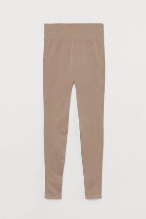 MAMA Seamless Leggings - Brown
