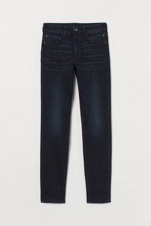Push-up Shaping High Jeans - Blue