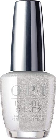 OPI Infinite Shine Nail Polish, Silver on Ice