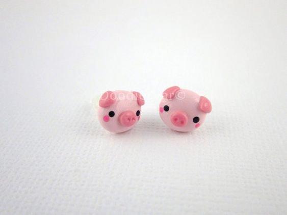 Cute Pig Earrings
