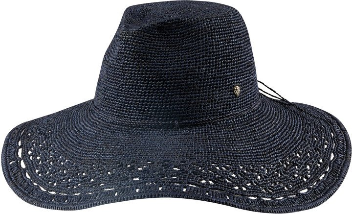 Ludmilla Wide Brim Fedora Hat