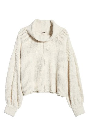 Free People Be Yours Cowl Neck Sweater | Nordstrom