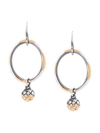 Bottega Veneta Dichotomy Earrings | Farfetch.com