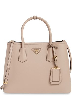 Prada Double Medium Saffiano Leather Tote | Nordstrom