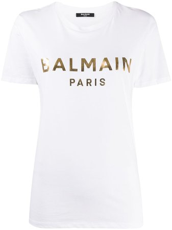 Balmain Logo T-shirt - Farfetch