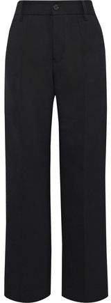 Twill Straight-leg Pants