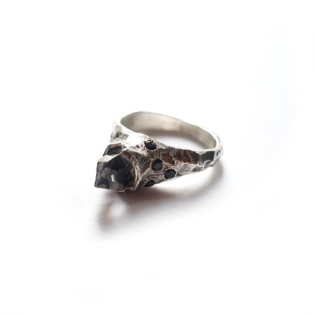 Herkimer Pave Stone Ring – Mary Gallagher
