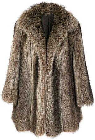 Pre-Owned possum fur coat
