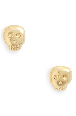 gorjana Skull Stud Earrings | Nordstrom