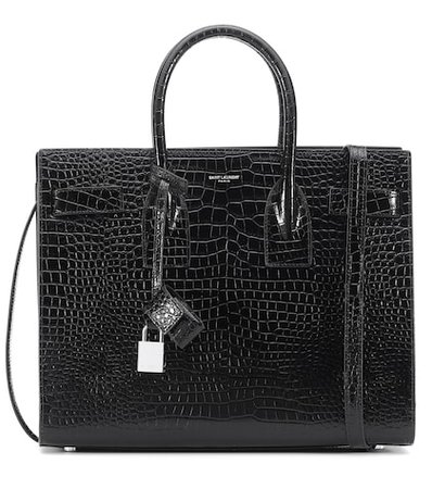 Small Sac De Jour leather tote