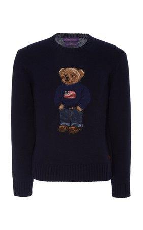 Intarsia Cashmere Sweater by Ralph Lauren | Moda Operandi
