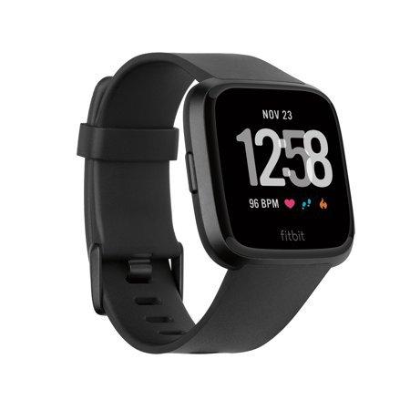 Fitbit Versa Smartwatch - Walmart.com black