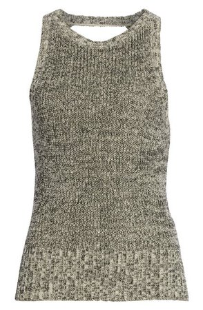 Theory | Cable Wool Paper Blend Sleeveless Sweater | Nordstrom Rack