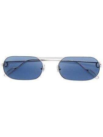Cartier square frame sunglasses