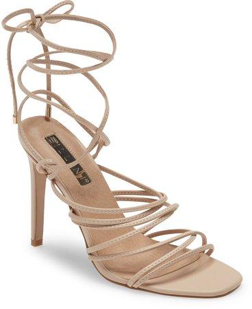Billini Jesse Ankle Tie Sandal