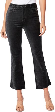 Claudine Double Button High Waist Flare Jeans