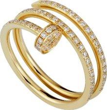 CRB4211900 - Juste un Clou ring - Yellow gold, diamonds - Cartier
